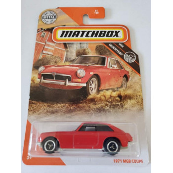 Matchbox 1971 MGB Coupe