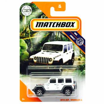 Matchbox 2018 Jeep Wrangler JL