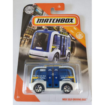 Matchbox MBX Self Driving Bus