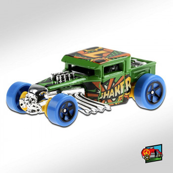 HotWheels Bone Shaker Green