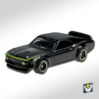 HotWheels 69 Ford Mustang...
